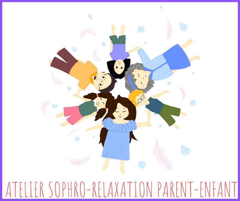 sophrologie relaxation enfant complicité parent enfant gestion des émotions