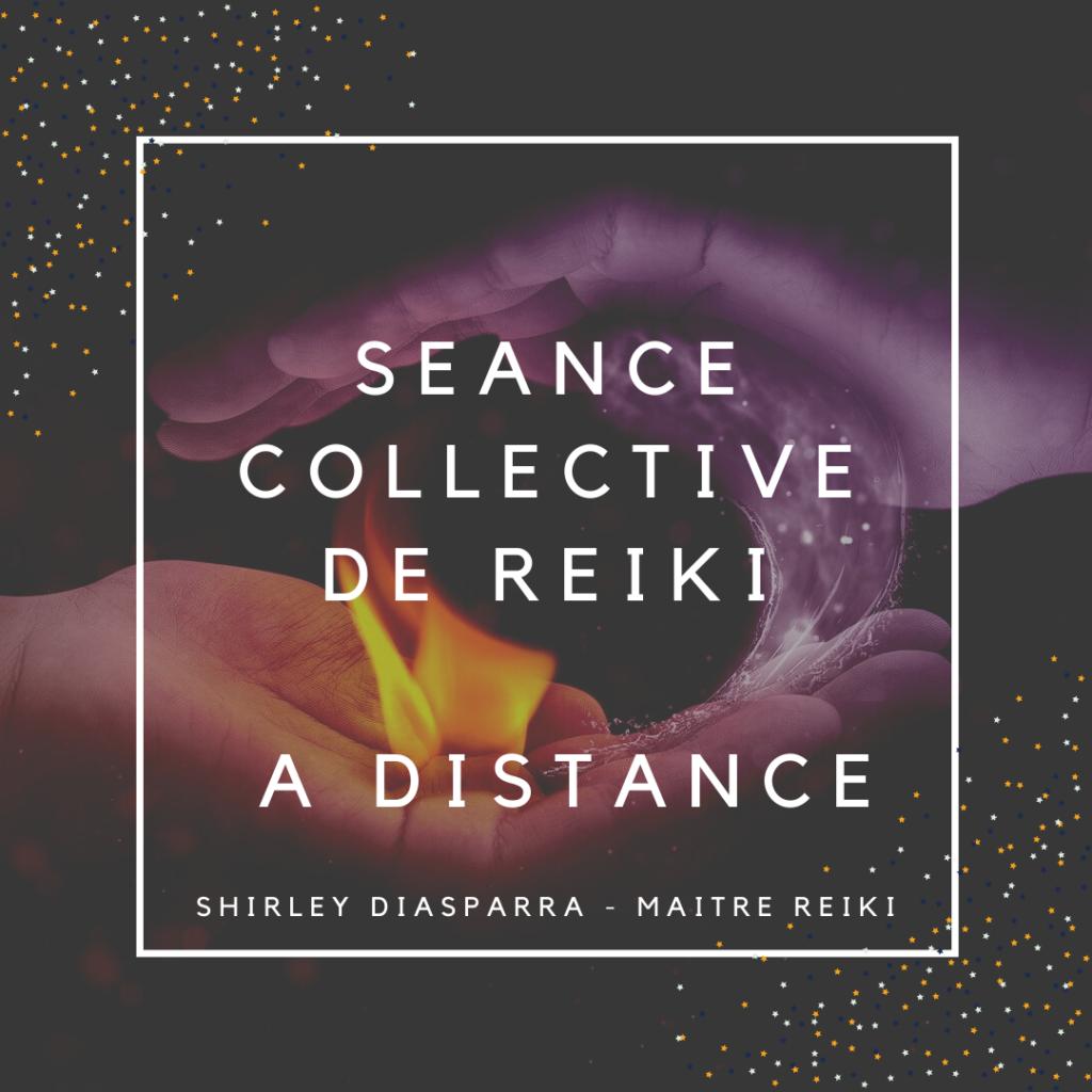séance collective de Reiki à distance