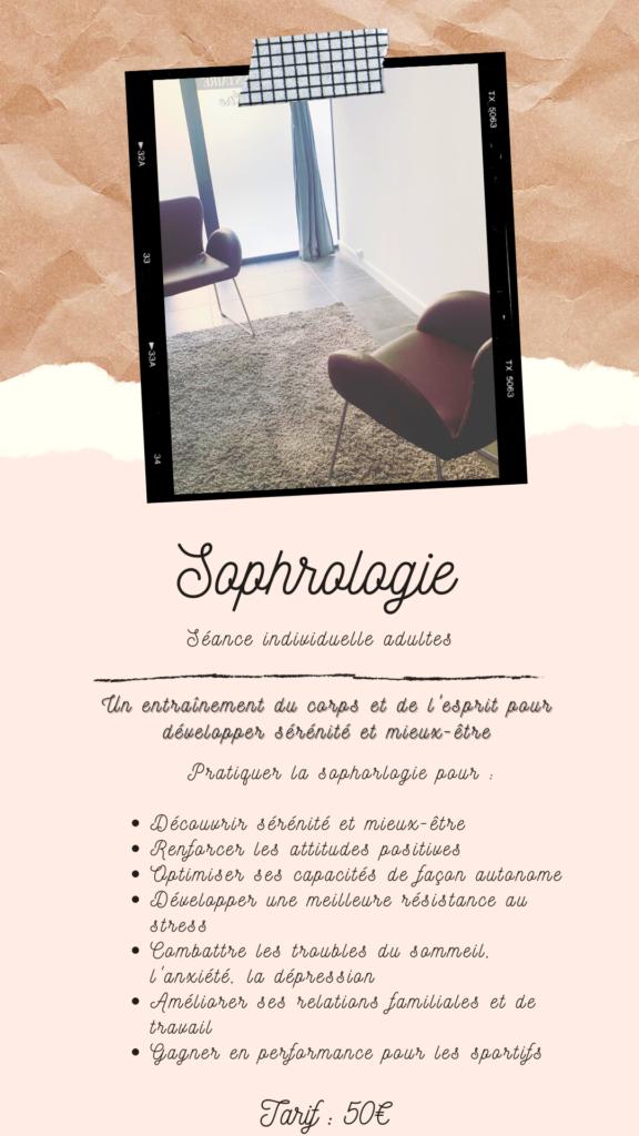 sophrologie séance individuelle