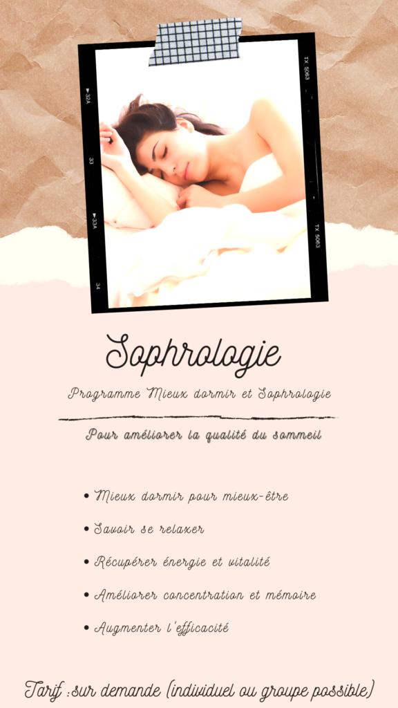 Mieux dormir et sophrologie